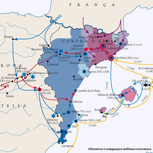 Catalonia and the War of the Spanish Succession (1702-1715)